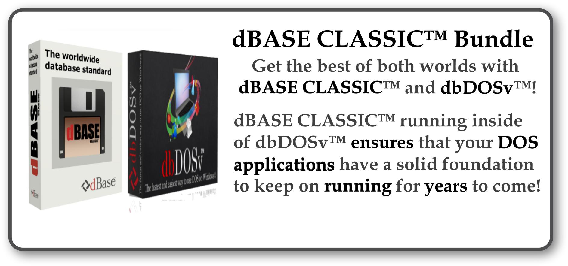 Buy dBASE CLASSIC BUNDLE